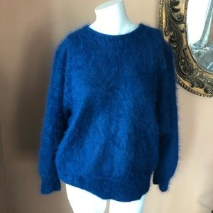 Gorgeous vintage Angora fuzzy sweater